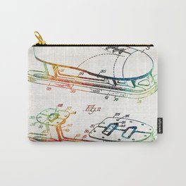 Ice Skate Patent - Sharon Cummings Carry-All Pouch
