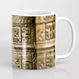 Tibetan Prayer Wheel Nepal Temple Coffee Mug