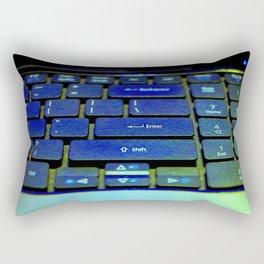 Enter At Your Own Risk Rectangular Pillow