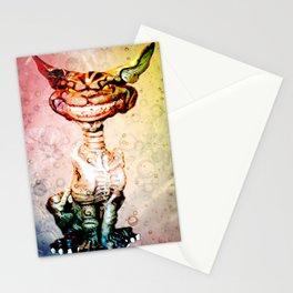 BEWARE THE CHESHIRE CAT GRIN Stationery Cards