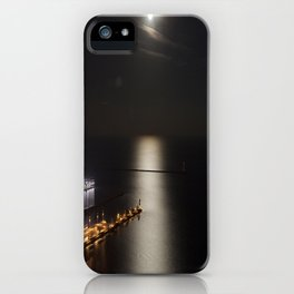 Navy Pier Moonlight iPhone Case