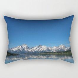 Grand Teton Reflection Rectangular Pillow