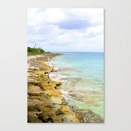Mexican Beach Canvas Print