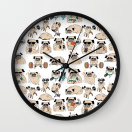 Pugsgym Wall Clock