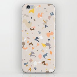 Lively Colorful Terrazzo Pattern iPhone Skin