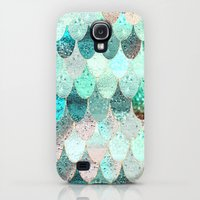 Samsung Galaxy S4 Case featuring SUMMER MERMAID by Monika Strigel