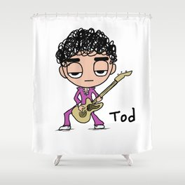 Rock Tod Shower Curtain