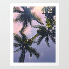 Palmeira Art Print