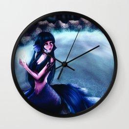 Mermaid Hinata Wall Clock