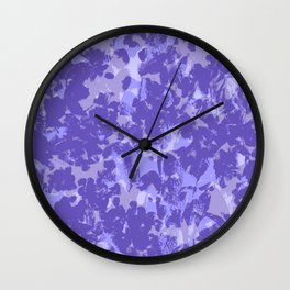 Lavender and Sage Wall Clock