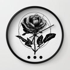 Inked Wall Clock