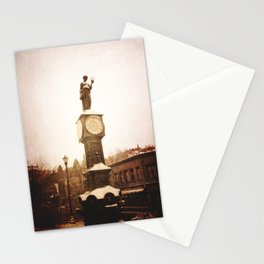 Wheeler Town Clock Stationery Cards