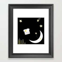 Toast Among The Stars Framed Art Print