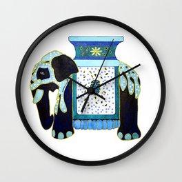 Bombay Blue Wall Clock