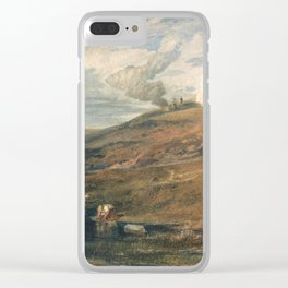 """J.M.W. Turner """"Dartmoor- The Source of the Tamar and the Torridge"""" Clear iPhone Case"""