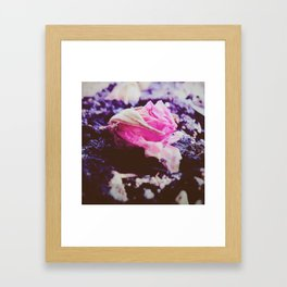 Fallen Framed Art Print