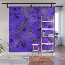 Heavenly Blue Garden Wall Mural