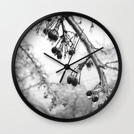 Buffalo, NY Ice Storm Wall Clock