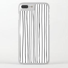 _ L I N E S Clear iPhone Case