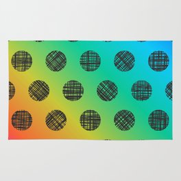 rainbow dotted DP037-6 Rug