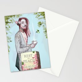Haunted Nein - Caduceus Clay Stationery Cards