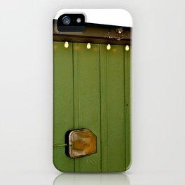 SEA|GreenLight iPhone Case