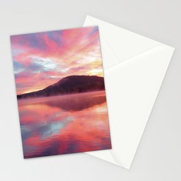 Sunrise: Fire Above and Fire Below Stationery Cards