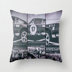 Historic car Throw Pillow