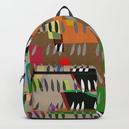UDON NOODLE BOWL . abstract cutouts Backpack