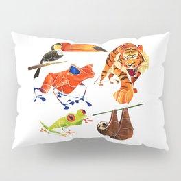 Rainforest animals 2 Pillow Sham