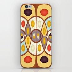 Wavy geometric abstract iPhone & iPod Skin