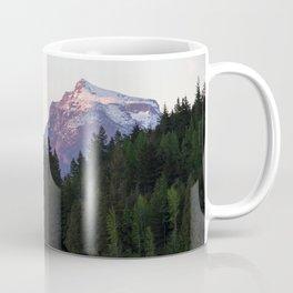 Glacier Mountains at Sunset Coffee Mug