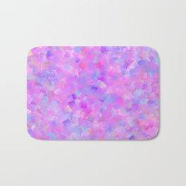 Funfetti (Preppy Abstract Pattern) Bath Mat
