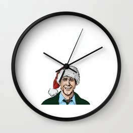 griswold crhistmas Wall Clock