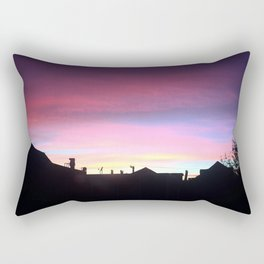 Pink night Rectangular Pillow