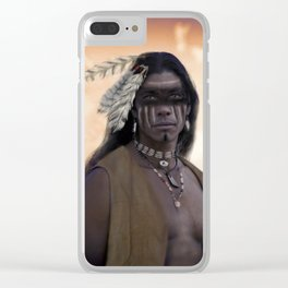 Proud Warrior Clear iPhone Case