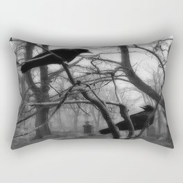 Graveyard Birds Rectangular Pillow