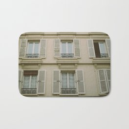 paris view Bath Mat