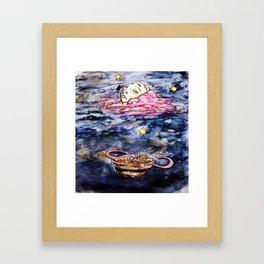The Soup. Framed Art Print
