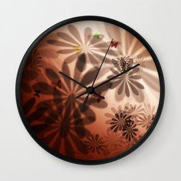 Flower LD Wall Clock