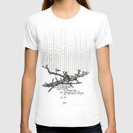 Seagulls in the Rain T-shirt