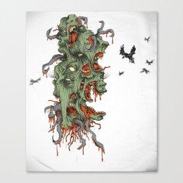 CORN FLAKES. Canvas Print