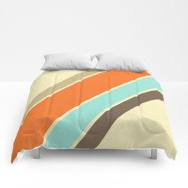 Retro Stripes Comforters