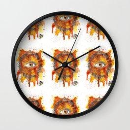 Eyes Series BROWN Wall Clock