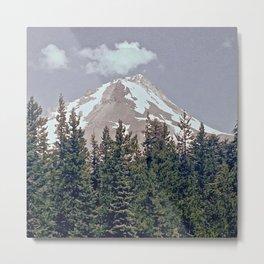 Mt Hood Metal Print