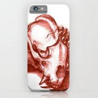 Sketchy Skull Slim Case iPhone 6s