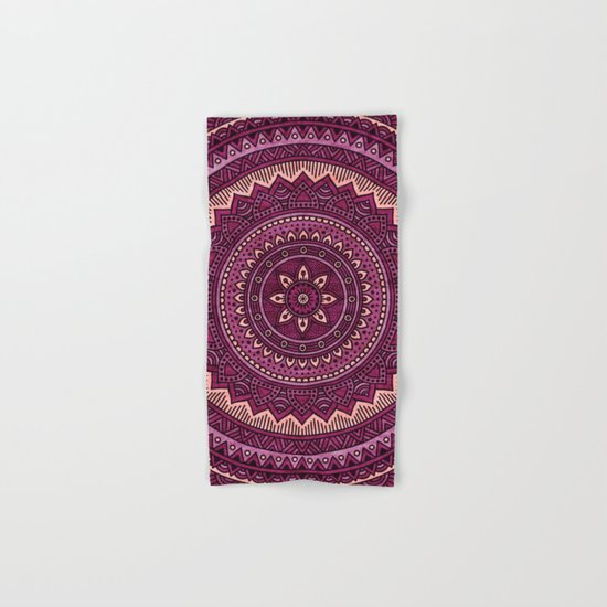 Hippie mandala 39 Hand & Bath Towel