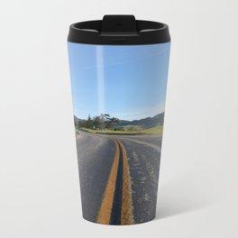 CA Road Metal Travel Mug
