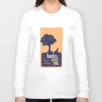 parks and rec Long Sleeve T-shirts featuring Barks and Rec Logo by barksandrec