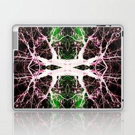 Neon Mirrored Trees 8 Laptop & iPad Skin